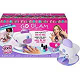 Cool Maker, GO Glam Nail Stamper Deluxe Salon for Manicures and Pedicures with 8 Patterns and Nail Dryer, Amazon Exclusive
