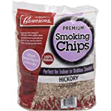 Camerons Products Hickory Wood Smoker Chips ~ 2 lb. Bag, 260 cu. in. - 100% Natural, Fine Wood Smoking and Barbecue Chips