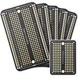 PCB Prototype Board Solderable Breadboard for Arduino and DIY Electronics Projects, Gold-Plated (5 Pack + 1 Mini Board, Matte