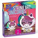 Craft-tastic CT1960 Stacked String Art Unicorns – Craft Kit Makes 2 Magical Unicorns