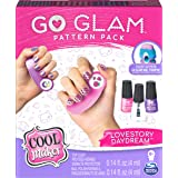 Cool Maker, GO Glam Daydream and Love Story Pattern Packs Refill, Decorates 100 Nails with GO Glam Nail Stamper