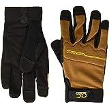 Custom Leathercraft 124X Workright Flex Grip Work Gloves, Shrink Resistant, Improved Dexterity, Tough, Stretchable, Excellent
