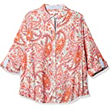 Foxcroft Women's Zoey Summer Paisley Shirt