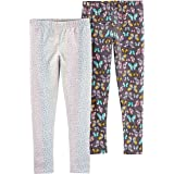 Carter's Girls 2-Pack Leggings Leggings - Multi