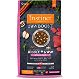 Instinct Raw Boost Small Breed Grain Free Recipe with Real Beef Natural Dry Dog Food by Nature's Variety, 10 lb. Bag