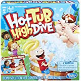 Hasbro Gaming Hot Tub High Dive Game With Bubbles For Kids Board Game For Boys and Girls Ages 4 and Up E1919