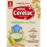 NESTLÉ CERELAC Muesli with Pear Baby Cereal Stage 3, 6x200g