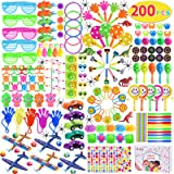 Max Fun 200Pcs Random Color Assortment Toys for Kids Birthday Party Favors Prizes Box Toy Assortment Classroom