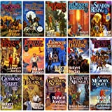 The Wheel of Time, 15 Book Set: New Spring, Eye the World, Great Hunt, Dragon Reborn, Shadow Rising, Fires Heaven, Lord Chaos
