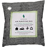Natural Feel All Natural Activated Bamboo Charcoal Air Purifying Deodorizer Bags 1 Pack Set 500g Natural Air Purifying Bag. O