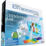 WILD! Science-WES90XL Environmental Science Test Tube Chemistry Lab - 50+ Science Experiments and Reactions - Ages 8+ - Learn
