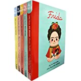 Little people, big dreams series 1 : 5 books collection bundle set ( Maya Angelou ,Marie Curie,Frida Kahlo,Coco Chanel,Amelia