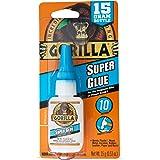 Gorilla GG41004 SUPERGLUE 15G GORILLA Gorilla Super Glue, 15G Bottle
