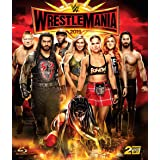 WWE レッスルマニア35 Blu-ray リージョンA(国内プレーヤーで再生可能)※日本語字幕なし 【カートアングル引退試合あり、ホーガンあり、フレアー乱入あり、我らがシンスケあり、見逃せないビックマッチ多数、見所満載!】