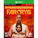 Far Cry 6 Xbox Series X S, Xbox One Gold Steelbook Edition