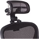 The Original Headrest for The Herman Miller Aeron Chair H3 Carbon | Colors and Mesh Match Classic Aeron Chair 2016 and Earlie