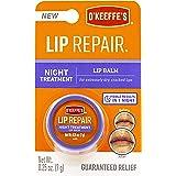 O'Keeffe's K3015207 Night Repair Lip Balm, Clear