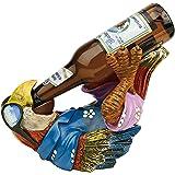 Design Toscano HF308507 Beer Buddy Tiki Parrot Statue