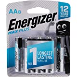 Energizer EP91BP8T Max Plus, AA (Packaging may vary), 8ct