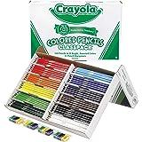 CRAYOLA 68-8024 240 Colored Pencil Classpack (12 Colors)