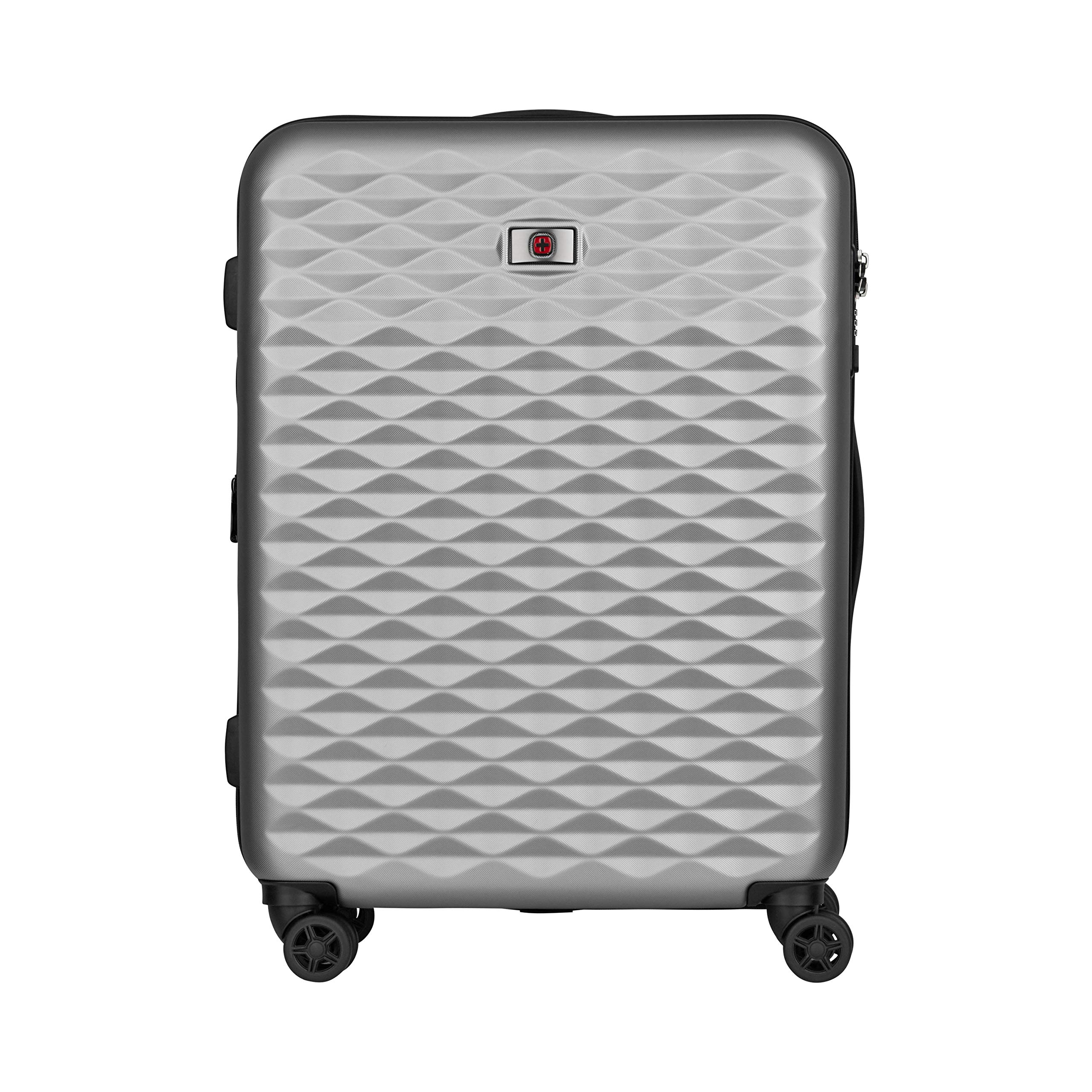 Wenger 604341 Lumen Hardside Upright Luggage, Silver, 64 Centimeters