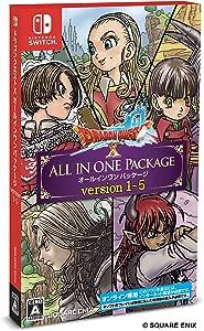 ドラゴンクエストX オールインワンパッケージ version 1-5【購入特典】ゲーム内アイテム「黄金の花びら×10個」 - Switch