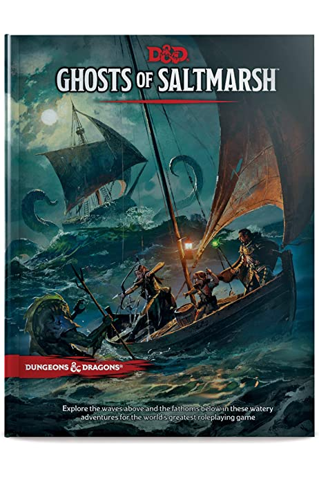 Dungeons Dragons Ghosts Of Saltmarsh Hardcover Book D D Adventure Wizards Rpg Team Amazon Com Au Books