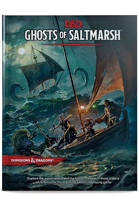 Dungeons Dragons Ghosts Of Saltmarsh Hardcover Book D D Adventure Wizards Rpg Team Amazon Com Au Books