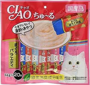 チャオ (CIAO) ちゅ~る まぐろバラエティ 14g×20本