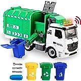 Jumbo Side-Dump Garbage Truck Toy Set