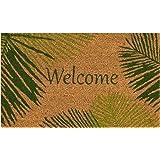 """Liora Manne Natura Palm Border Outdoor Mat Green 24""""X36"""""""