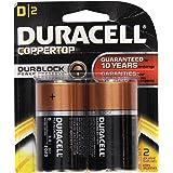 Duracell D Ultra Alkaline Batteries (Pack of 2)