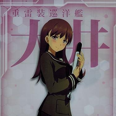 艦隊これくしょん~艦これ~ iPad壁紙 or ランドスケープ用スマホ壁紙(1:1)-1 - 大井
