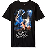 Goodie Two Sleeves Men's Humor Cat Wars Type Adult T-Shirt