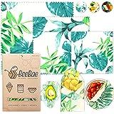 BeeBae Premium Beeswax Food Wrap Set of 3 + Free E Book | Organic Natural Zero Waste Beeswax Wrap | Cling Wrap Alternative +
