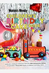 Children's Birthday Cake Book 40th Anniversary Edition Hardcover