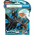 How to Train Your Dragon 3 Imagine Ink Magic Ink Pictures 13977, Bendon