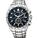 [シチズン] 腕時計 シチズン コレクション エコ・ドライブ電波時計 ダイレクトフライト クロノグラフ CB5870-91L メンズ シルバー