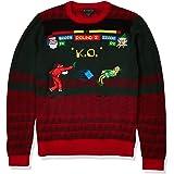 Blizzard Bay Men's Santa Street Fighter Ugly Christmas Sweater
