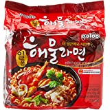 Paldo Seafood Noodles 120g (Pack of 5)