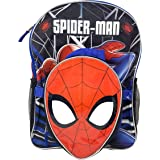 """Spiderman 16"""" Backpack with Shaped Lunch Bag- SPOU"""