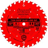 Freud 10 In. 30 Tooth Thin Kerf Glue Line Rip Saw Blade with 5/8 In. Arbor (LM75R010)