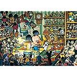 500ピース ジグソーパズル ディズニー ミッキーのおもちゃ工房 【光るジグソー】(35x49cm)