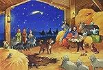 Joscha erlebt die Heilige Nacht: Tuerchen-Adventskalender mit 24 Geschichten zum Vorlesen