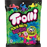 Trolli Sour Brite Sloths Gummy Candy, 4.25 Ounce, Pack of 12
