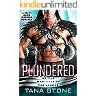 Plundered: A Sc-Fi Alien Warrior Romance (Raider Warlords of the Vandar Book 2)