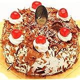 洋菓子店カサミンゴー 最高級洋菓子 シュヴァルツベルダーキルシュトルテ (誕生日プレートセット, 15cm) 必ず日時指定便をお選びください。