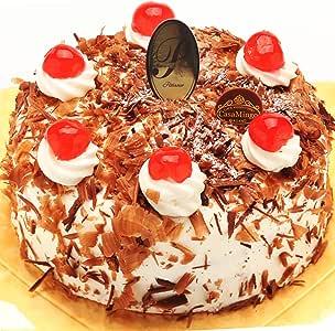 洋菓子店カサミンゴー 最高級洋菓子 シュヴァルツベルダーキルシュトルテ (誕生日プレート無し, 20cm)