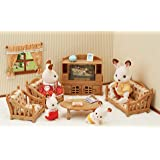 Sylvanian Families 5339 Comfy Living Room Set Accessories