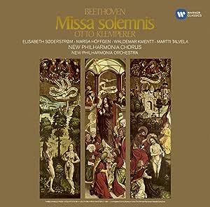 Missa Solemnis - Soderstrom, Hoffgen, Talvela, Kme
